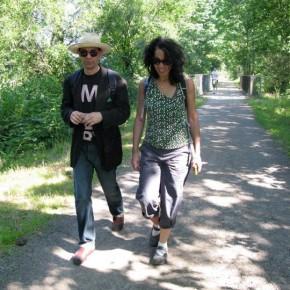 Walking with Jim
