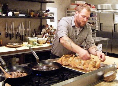 Chef Matt Dillon, best chef in the NW, discusses the dinner he prepared for The Long Walk, 2011