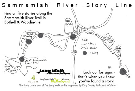 Sammamish River Story Line | The Long Walk Seattle